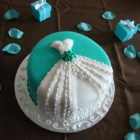 Pinspiration: Bridal Shower Cake [Pic Heavy] (Recipe for ...