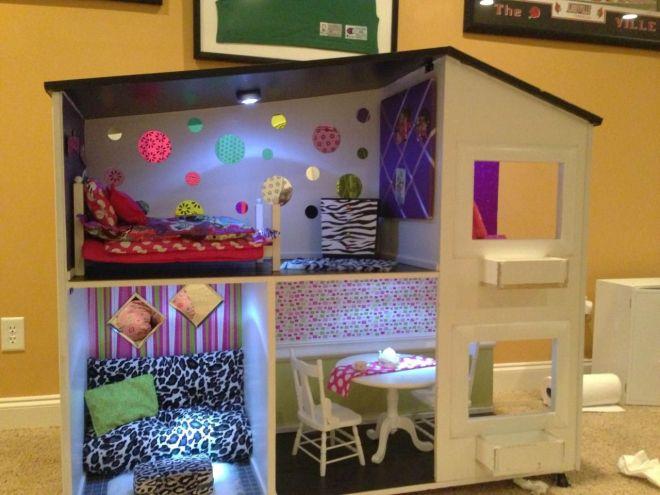 Ag sized doll house american girl doll house room