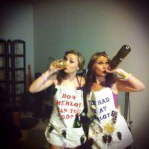 Wine Halloween Costume