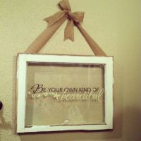 Window Panes: Craft Ideas For Old Window Panes