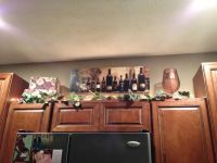 Wine kitchen cabinet decorations | Home decor ideas ...