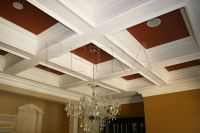 Coffered Ceiling | Ceiling Design | Pinterest