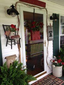 Primitive Porch Decor Ideas