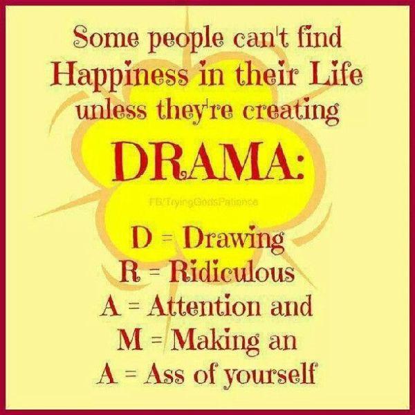 No drama Quotes Pinterest