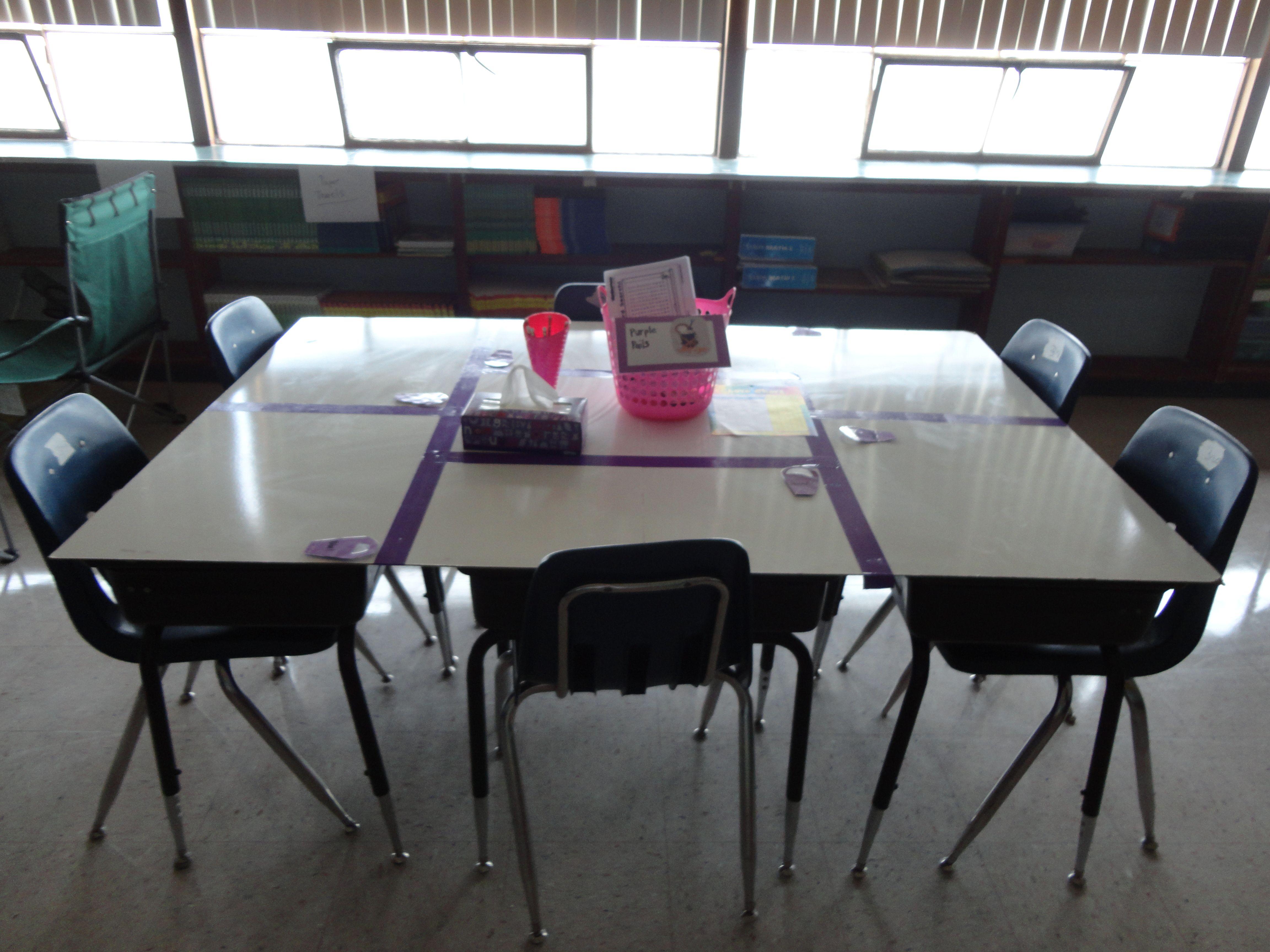 whiteboard desksa pretty cool idea  Classy Classroom