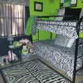 Zebra print and lime green bedroom lime lime green has my heart