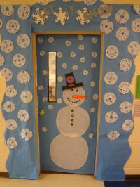 Classroom Door Decorations For January