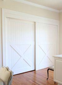 Bypass closet doors | Decor Ideas | Pinterest