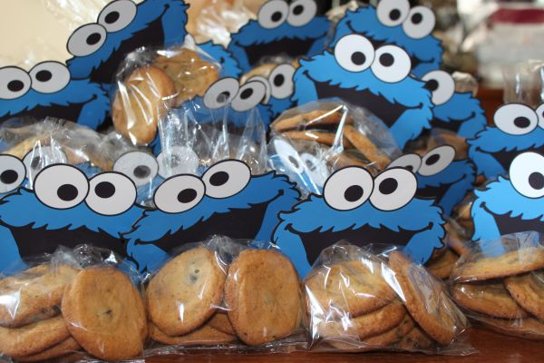 Cookie Monster Favors Party Ideas
