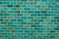 Handcrafted Mosaic Turquoise tile. | Para cocinas/ for ...