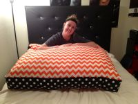Karrahs giant floor pillow! | DIY! | Pinterest
