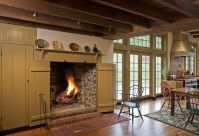 Walk-In Fireplace | The Perfect Home. | Pinterest
