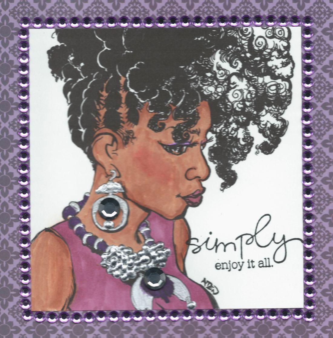 African american birthday card my creations pinterest