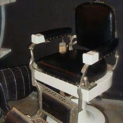 Antique Barber Chairs Desk Chair Parts   Antiques Pinterest