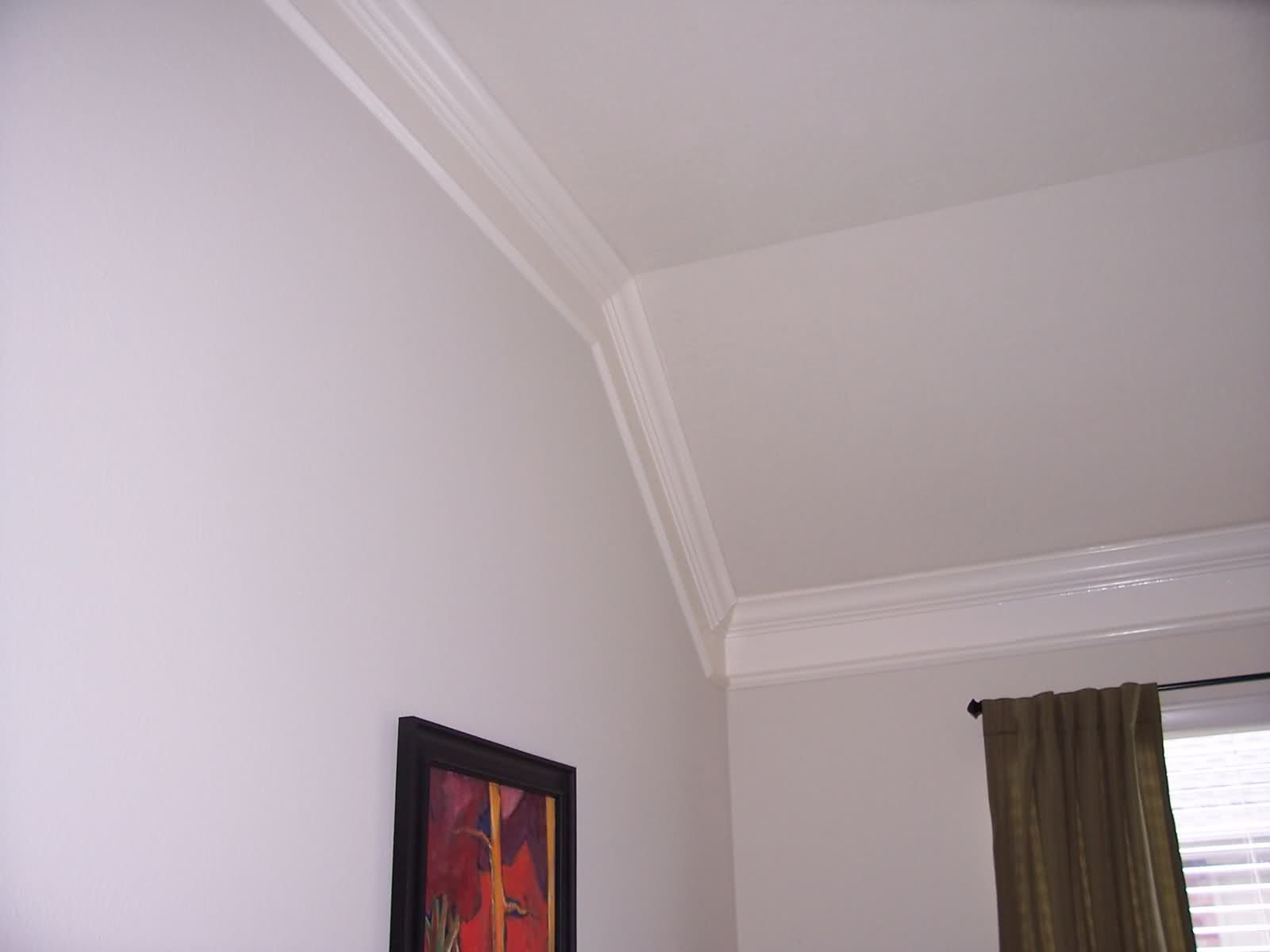 Crown Molding With Cathedral Ceiling