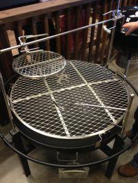 Fire pit racks | 15. Fire Pits | Pinterest