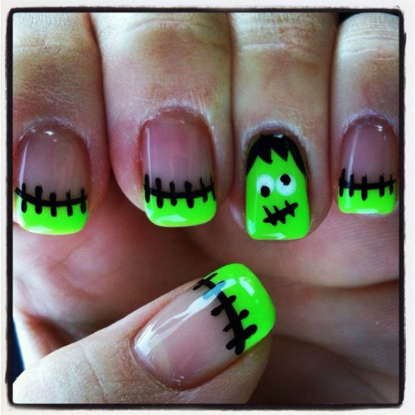 Bright Halloween Pilar - Nail Art Nails Magazine