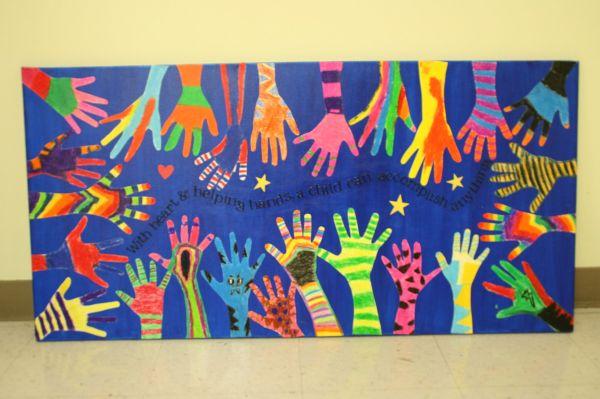 2nd Grade Class Auction Project. School Fundraiser