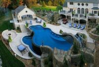 Crazy cool backyard | Dream home | Pinterest