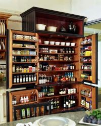 Large kitchen pantry | For the Home | Pinterest