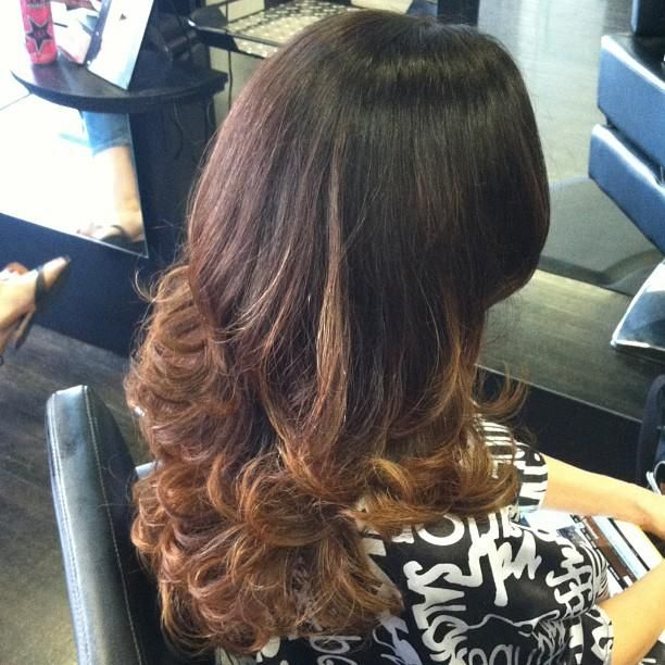 blow dry hairstyle  Hairstyles for Long Hair  Pinterest