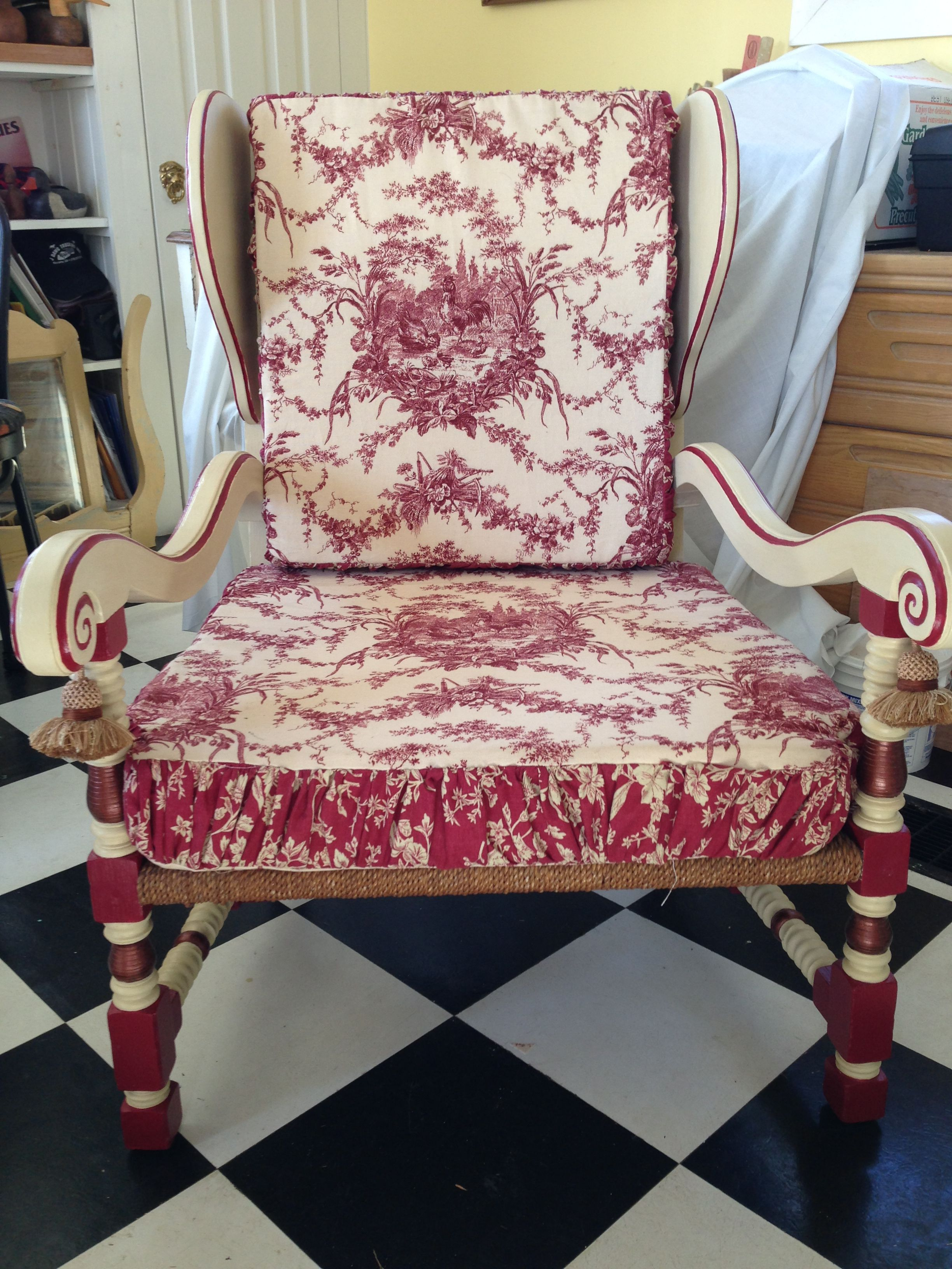 alice in wonderland chair pottery barn rocking our painted furniture pinterest