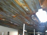 Rustic ceiling