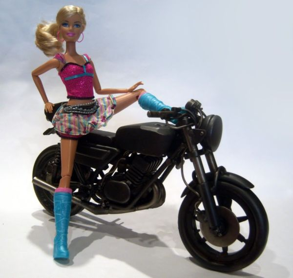 Barbie And Bike Cool Motorcycles Bicycles
