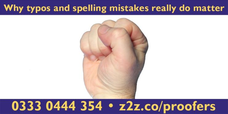 Why typos and spelling mistakes really do matter