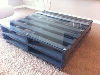 Wood pallet coffee table | Repurposing wood pallets ...