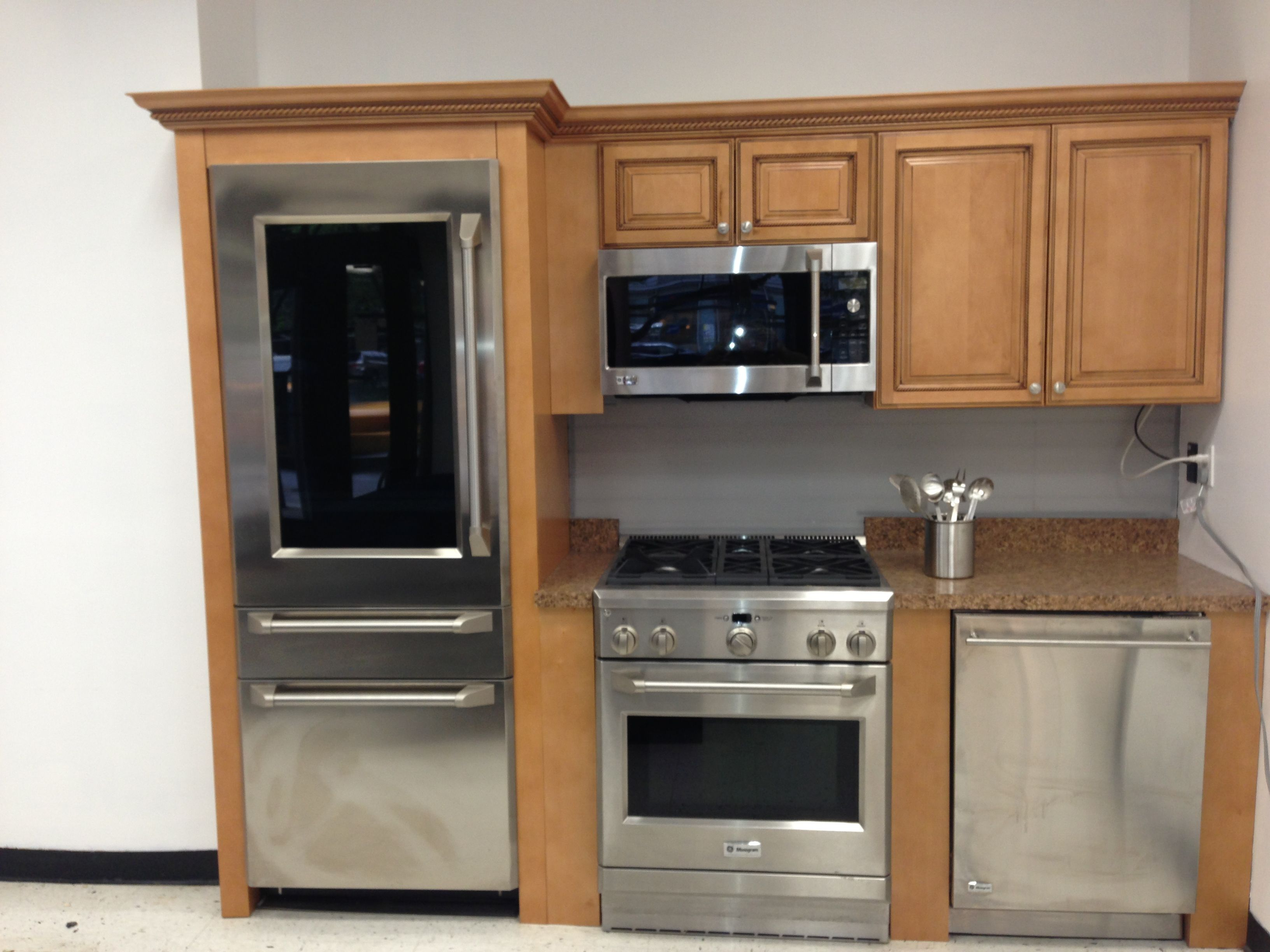 refrigerator for small kitchen trash compactor great appliances a renovation