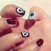 fun halloween nails fingernails