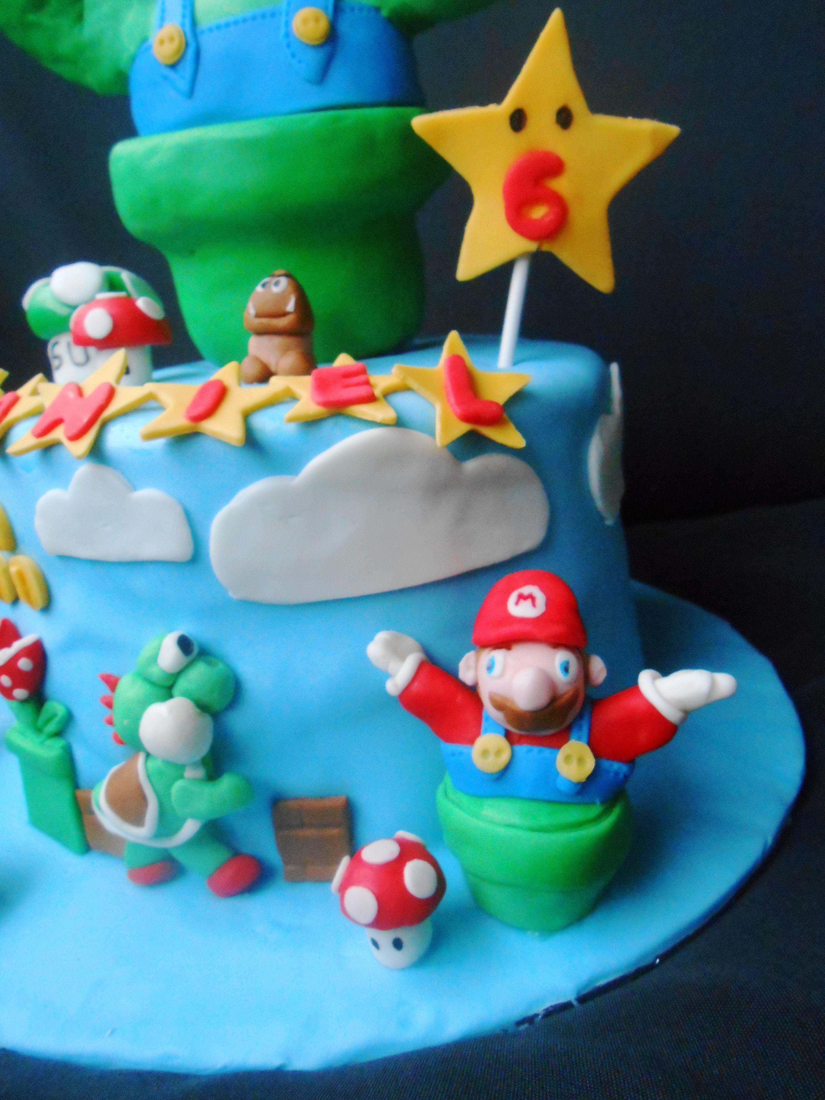 Mario And Luigi Cake Ideas And Designs