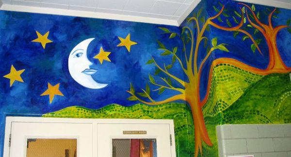 Elementary School Mural Jan Wilson And