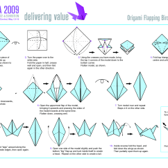 Origami Hummingbird Diagram Instructions Universal Ignition Bird Loveit