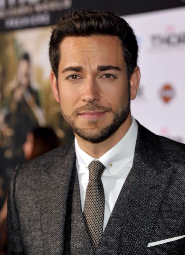 Zachary Levi. ' Partially Appreciating Suit And