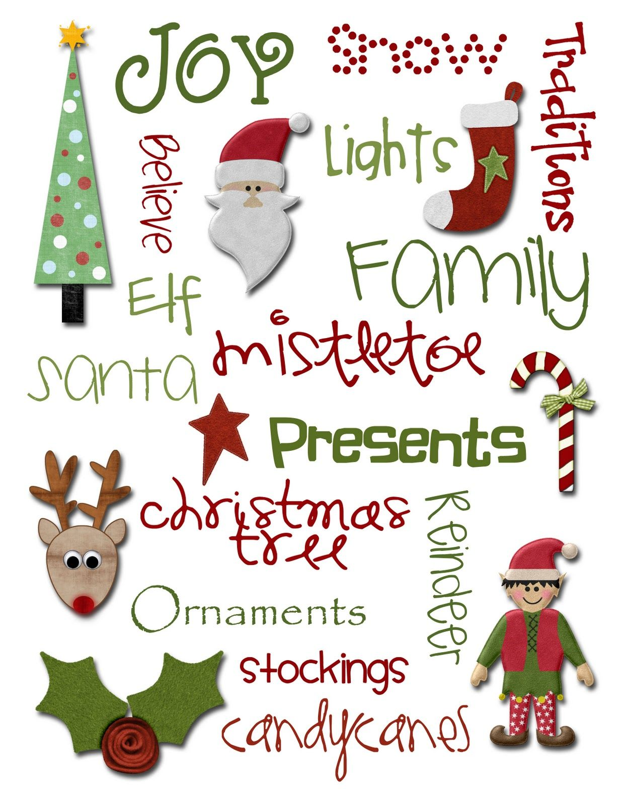Free Printable Christmas Quotes Quotesgram