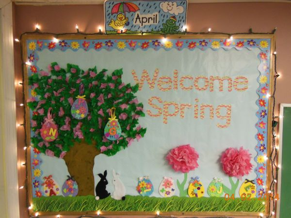 20 Pinterest Preschool Spring Bulletin Boards Pictures And Ideas On