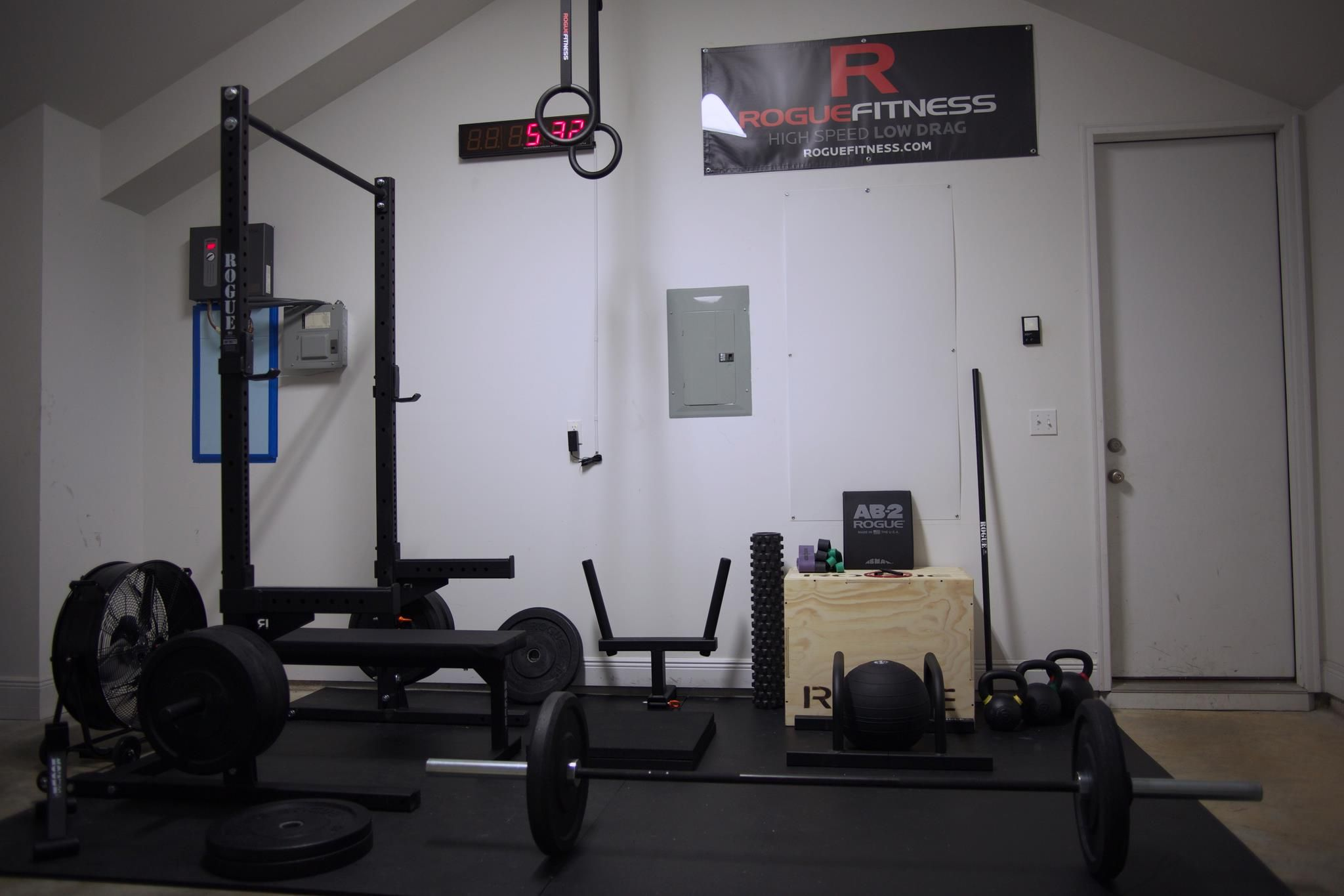 Rogue fitness garage gym luxury essential items to outfit your