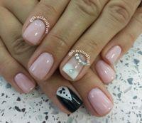Nude, Groom and bride nails | Precious Phan | Pinterest