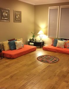 Pin by ashlesha jadhav on indian decor inspiration pinterest style floor mattress and living rooms also rh br