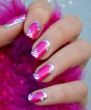 pink nails pretty