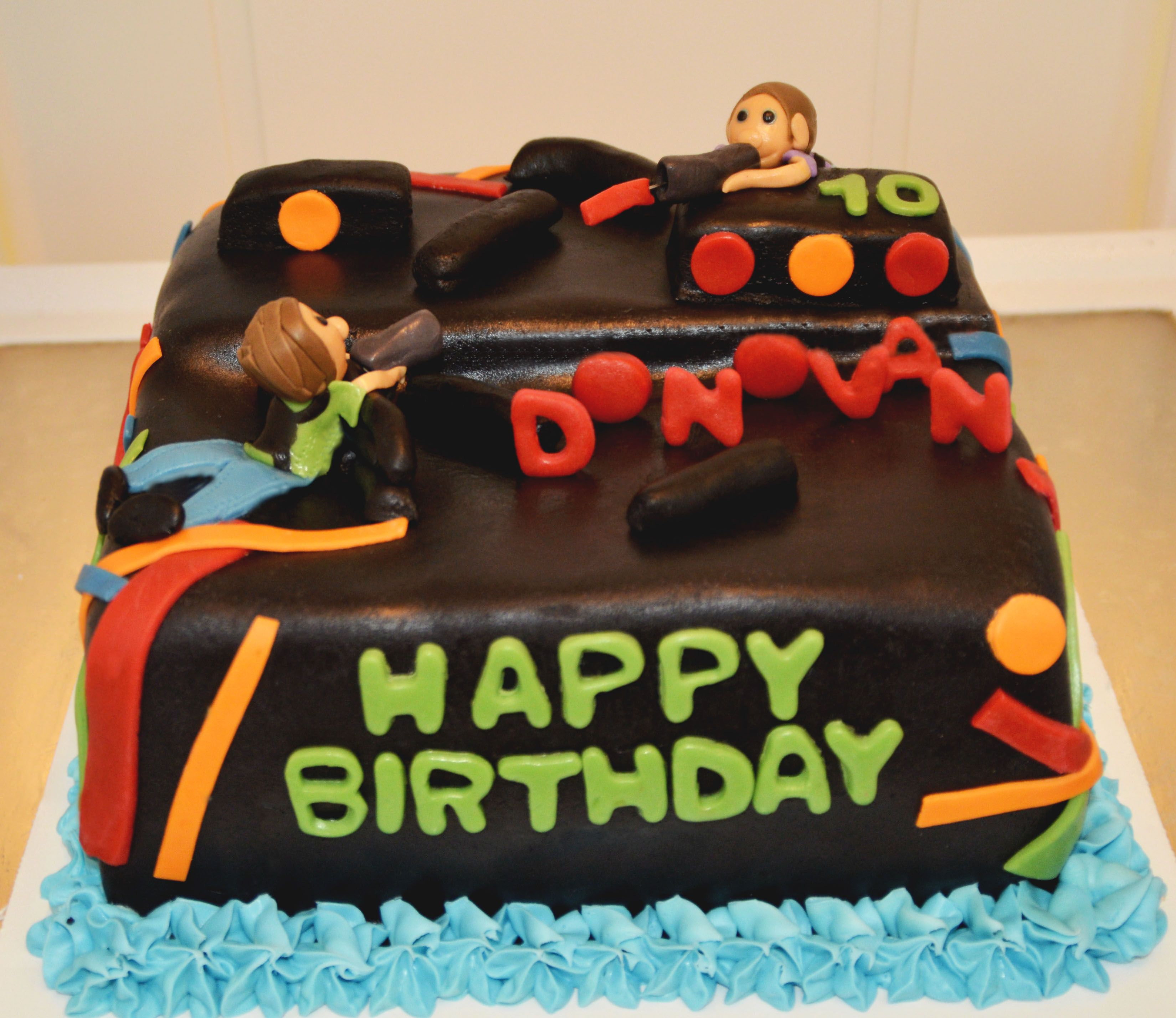 Pinterest Laser Tag Cake Ideas