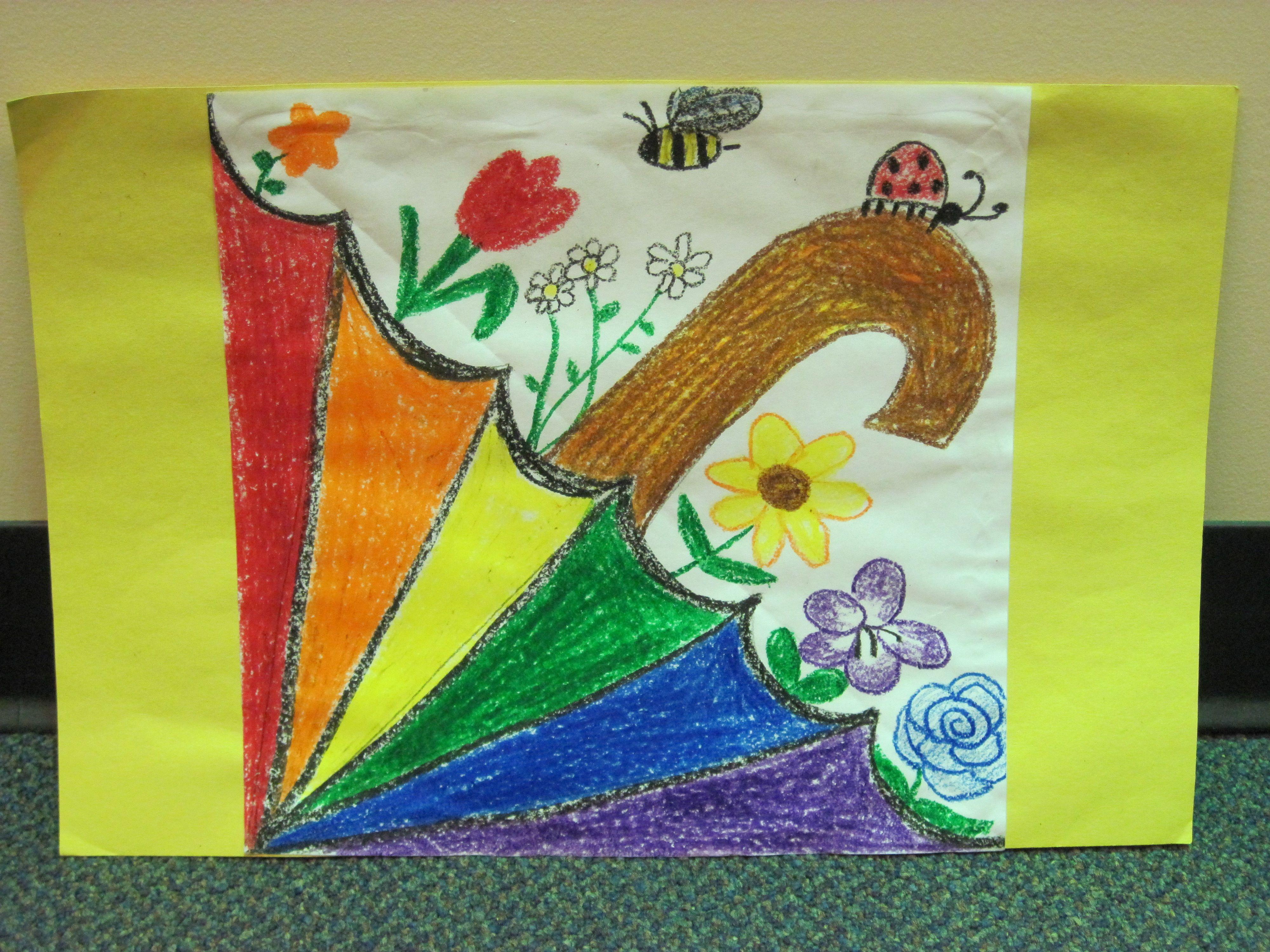 Spring Spectrum Umbrella