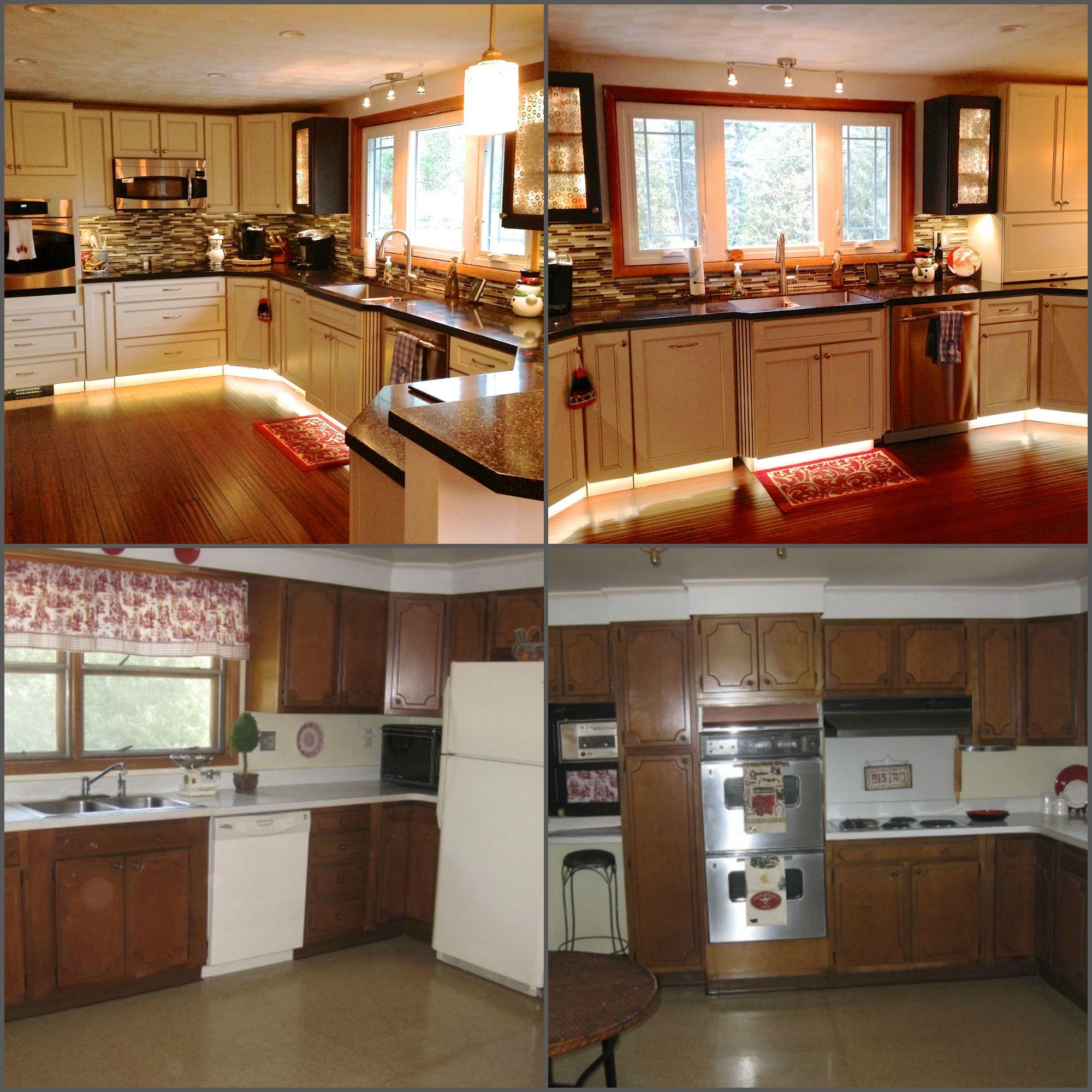 kitchen cabinets remodel breakfast bar mobile home remodeling ideas pinterest