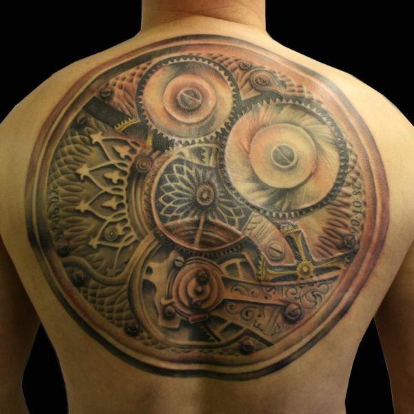 Steampunk Tattoo. Tattoos