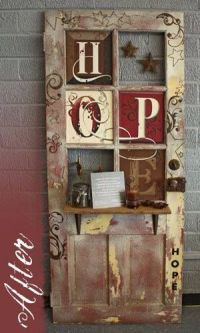 Pin by Melody Simpler on DIY Old Doors and Windows | Pinterest