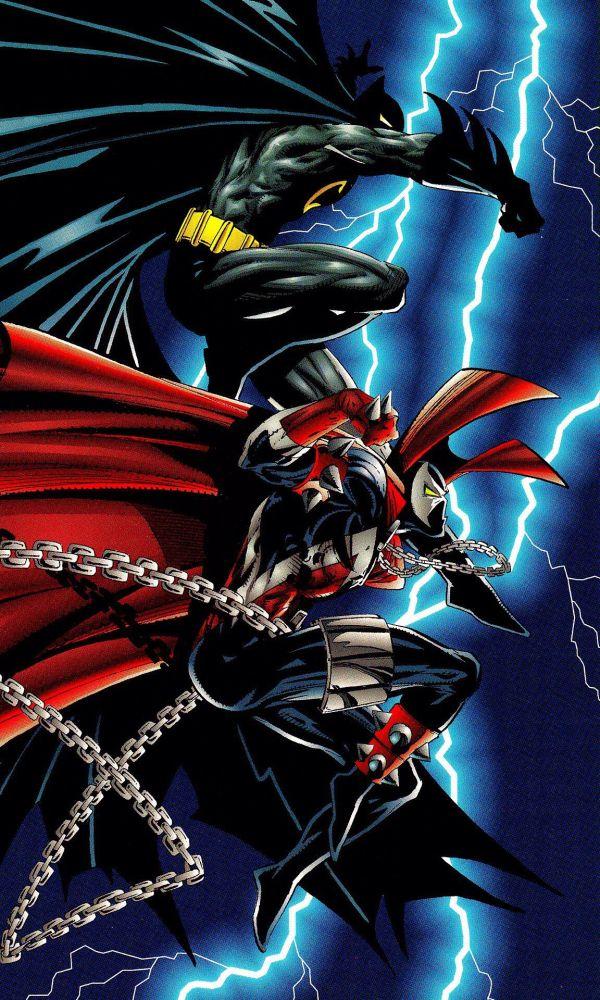 Batman & Spawn Superhero
