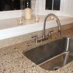 Extra Large Kitchen Sink Aid Electric Range Deep Stainless Steel Artic Quill