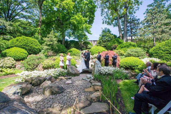 Cleveland Botanical Gardens Wedding